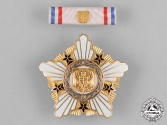 Serbia, Republic. An Order of the Republic, I Class, c.1995