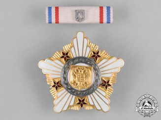 Serbia, Republic. An Order of the Republic, II Class, c.1995
