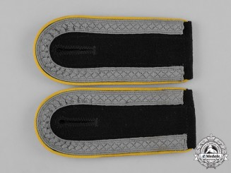 Germany, Waffen-SS. A Pair of Unterscharführer Cavalry/Motorized Reconn Personnel Shoulder Straps