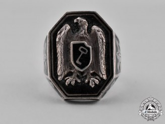 Germany, SS. A Leibstandarte AH First SS Panzer Division Champions Ring