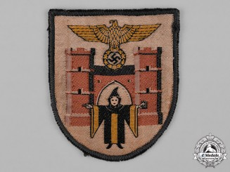 Germany, NSDAP. A Rare München Woven Sleeve Insignia