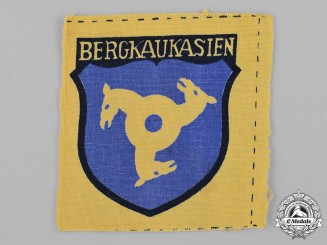 Germany, Third Reich. An North Caucasian Volunteer Service Sleeve Insignia