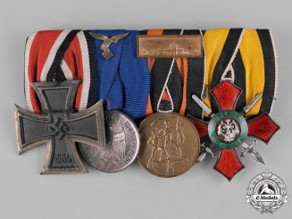 Germany, Wehrmacht. A Third Reich Period Medal Bar