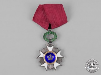 Belgium, Kingdom. An Order of the Crown, V Class Knight, c.1950