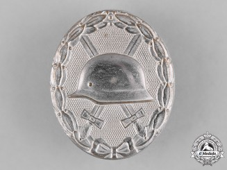 Germany, Wehrmacht. A Silver Grade Wound Badge, 1957 Issue