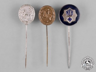 Germany, Third Reich. A Lot of Membership Stick Pins
