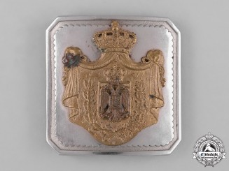 Yugoslavia, Kingdom. An Army Officer's Belt Buckle, c. 1935