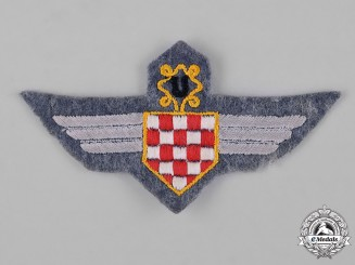 Croatia, Republic. An Air Force Legion Badge