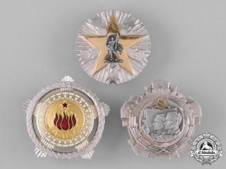 Yugoslavia, Socialist Federal Republic. A Lot of Three Awards