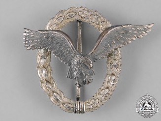 Germany, Luftwaffe. A Pilot's Badge, Early 1957 Issue