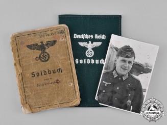 Germany, Heer. A Soldbuch to Infantry Oberleutnant Hans Reinhardt (EK1)