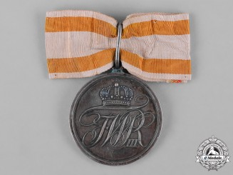 Prussia, Kingdom. A Military Honour Medal, II Class, Ladies Recipient