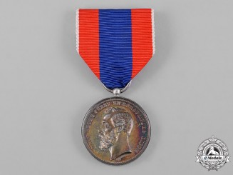 Schaumburg-Lippe, Principality. A Merit Medal, Silver Grade, by Kullrich, c.1887