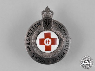 Germany, Imperial. A People's Sanctuary Association of the Red Cross Brooch