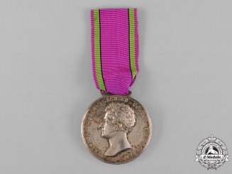 Saxe-Coburg and Gotha, Kingdom. A Saxe-Ernestine House Order Merit Medal, Gold Medal, c.1870