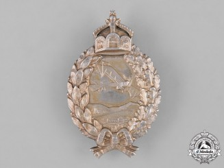 Germany, Imperial. A Prussian Pilot's Badge in Silver, by C.E. Juncker