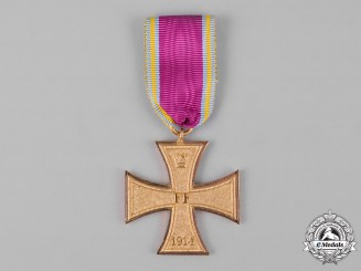 Mecklenburg-Schwerin, Grand Duchy. A Military Merit Cross for Non-Combatants, c.1915