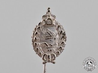 Germany, Imperial. A Prussian Pilot Badge Stick Pin, c.1916