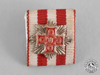Croatia, Republic. An Order of Merit for Christians, I Class Grand Cross Miniature