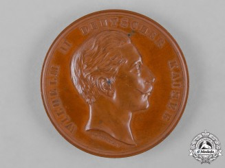 Germany, Imperial. A Medallion for Contributions to the Naval Pigeon Service