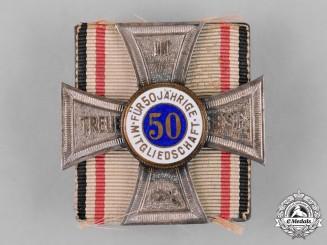 Germany, Imperial. A Regimental 50-Year Membership Badge