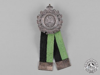 Germany, Imperial. A Regimental Anniversary Badge, c.1908