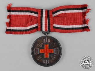 Germany, DRK. A German Red Cross Medal, c.1915