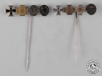 Germany, Imperial. A Lot of Award Stick Pins