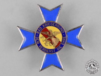 Germany, Weimar. A II Class Cross of Honour of the Baden Warrior's League
