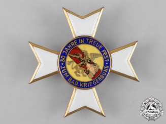 Germany, Weimar. A I Class Cross of Honour of the Baden Warrior's League