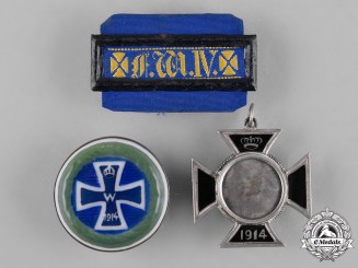 Germany, Imperial. A Group of First War Period Patriotic Badges
