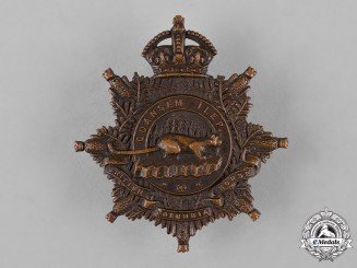 "Canada. A 30th Regiment ""British Columbia Horse"" Cap Badge, by Scully, c.1914"