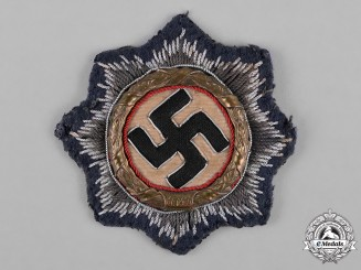 Germany, Luftwaffe. A German Cross in Gold, Luftwaffe Cloth Version