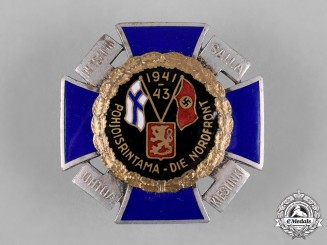 Germany, Third Reich. A 1941-1943 German/Finnish North Front Badge
