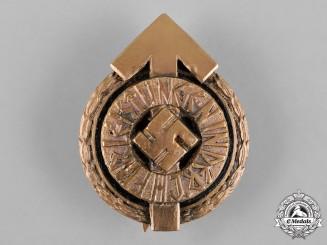 Germany, HJ. A Golden Leader's Sport Badge, Designation B, by Gustav Brehmer