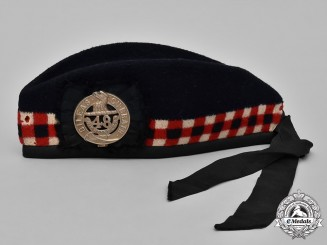 Canada. A 48th Highlanders of Canada Glengarry Cap, c.1944