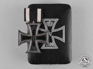 Germany, Imperial. A 1914 Iron Cross, II Class, with Case