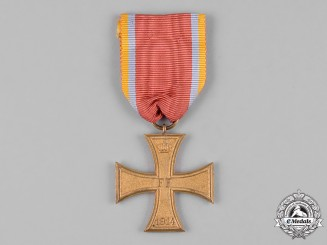 Mecklenburg-Schwerin, Grand Duchy. A Military Merit Cross