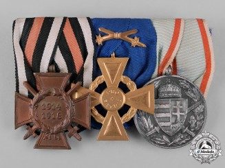 Austria, Imperial. A First War Period Medal Bar
