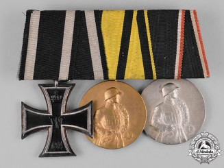 Germany, Imperial. An EK II Class & Shooting Medal Bar