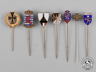 Germany, Imperial. A Lot of Veteran Organization Stickpins