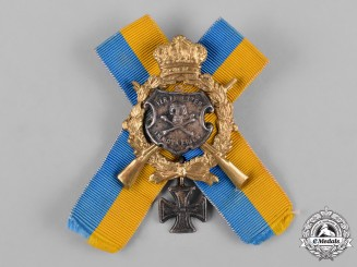 Germany, Imperial. An Hussars Regimental Badge