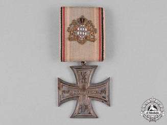Bavaria, Kingdom. A Cross for the Royal Bavarian 22nd Infantry Regiment