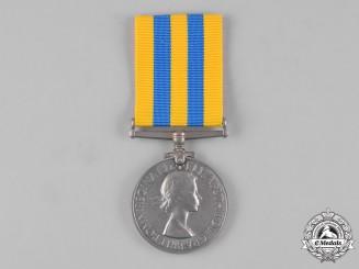 United Kingdom. A Korea Medal 1950-1953, to Sapper W.B. Gaunt, Royal Engineers
