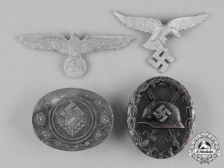 Germany, Third Reich. A Lot of Four Badges