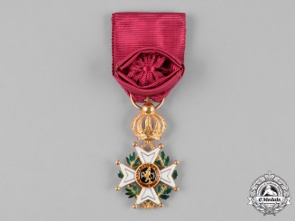 Belgium, Kingdom. An Order of Leopold in Gold, IV Class Officer, c.1870