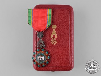 Thailand, Kingdom. A Most Exalted Order of the White Elephant, V Class Knight, c.1910