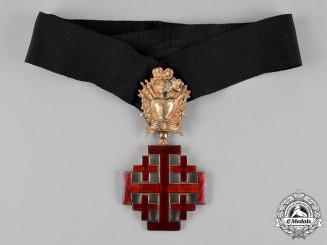 Vatican. An Equestrian Order of the Holy Sepulchre of Jerusalem, Commander's Cross, c.1920