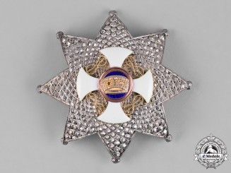 Italy, Kingdom. An Order of the Crown of Italy, II Class Grand Officer Star, by E.Gardino, c.1920