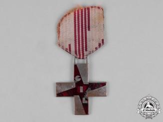 """Italy, Kingdom. A Fascist Youth """"Gioventù Italiana del Littorio"""" (GIL) Cross of Merit for Children"""